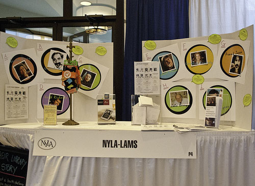 LAMS Booth at NYLA 2010 Annual Conference