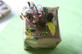 Eco Friendly Gift Box with Natural Elements