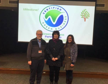 Saratoga Springs Staff Certified Green Business Partners